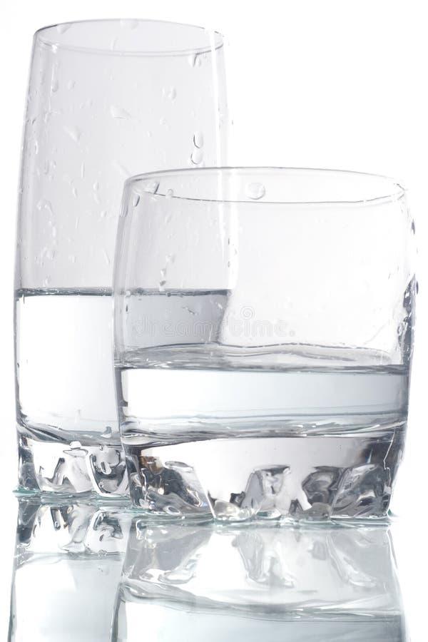 饮料玻璃二 库存图片
