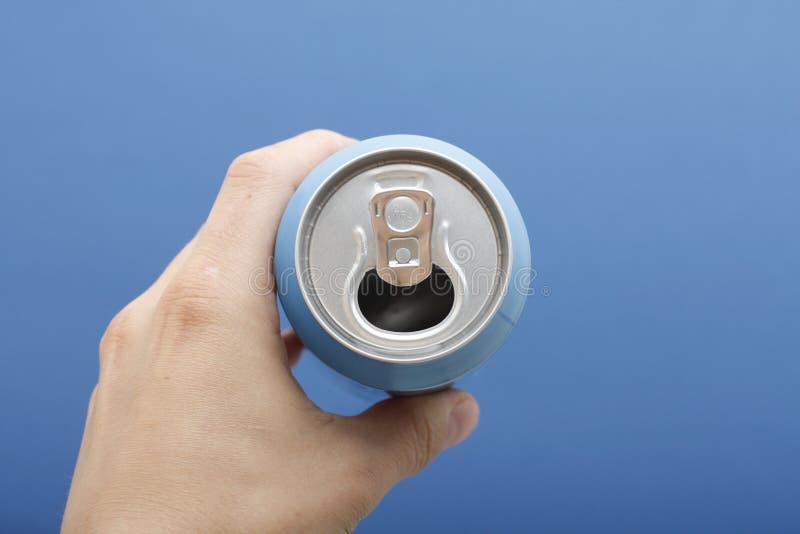 饮料罐头现有量藏品 库存照片