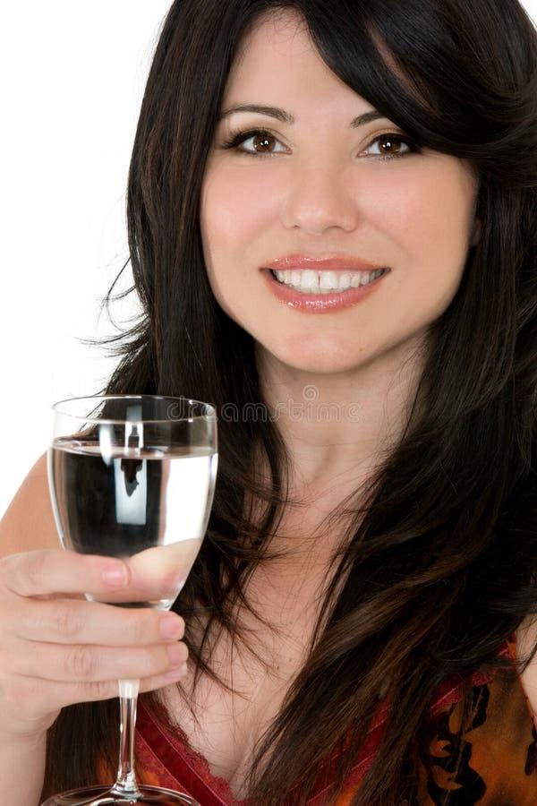 饮料身体好 免版税库存照片