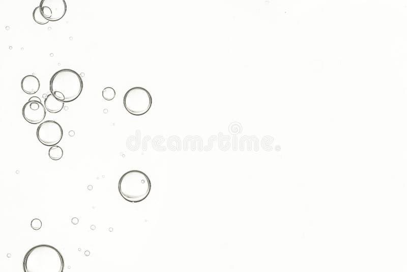 饮用水泡影 库存照片