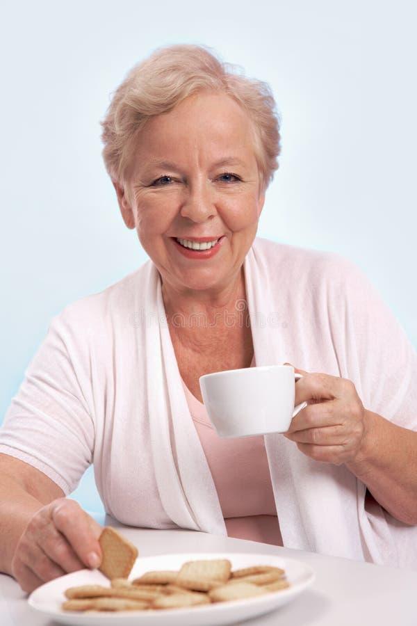 饮用的茶 库存图片