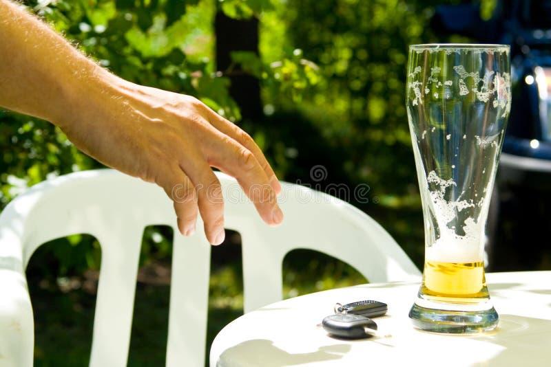 饮用的驱动 免版税图库摄影