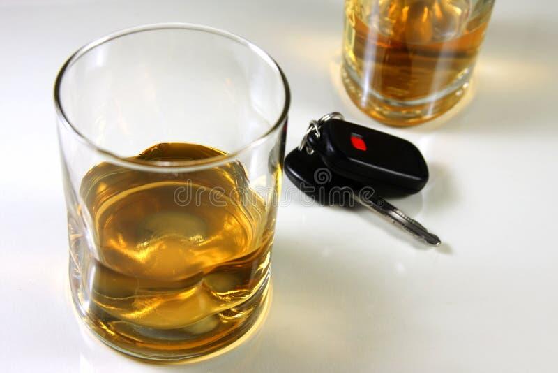 饮用的驱动 免版税库存图片