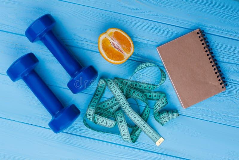 饮食和减重概念 免版税图库摄影