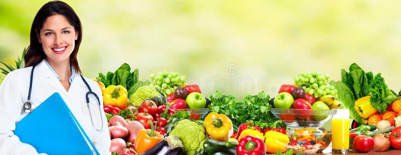饮食和医疗保健 免版税库存图片