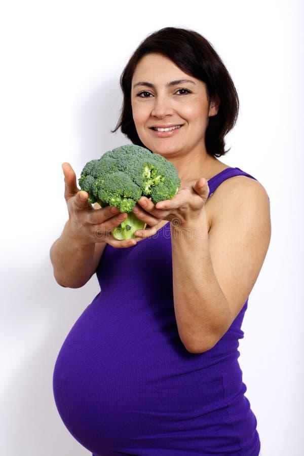 饮食怀孕 免版税库存照片