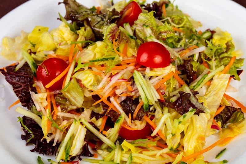 饮食素食主义者沙拉 库存照片