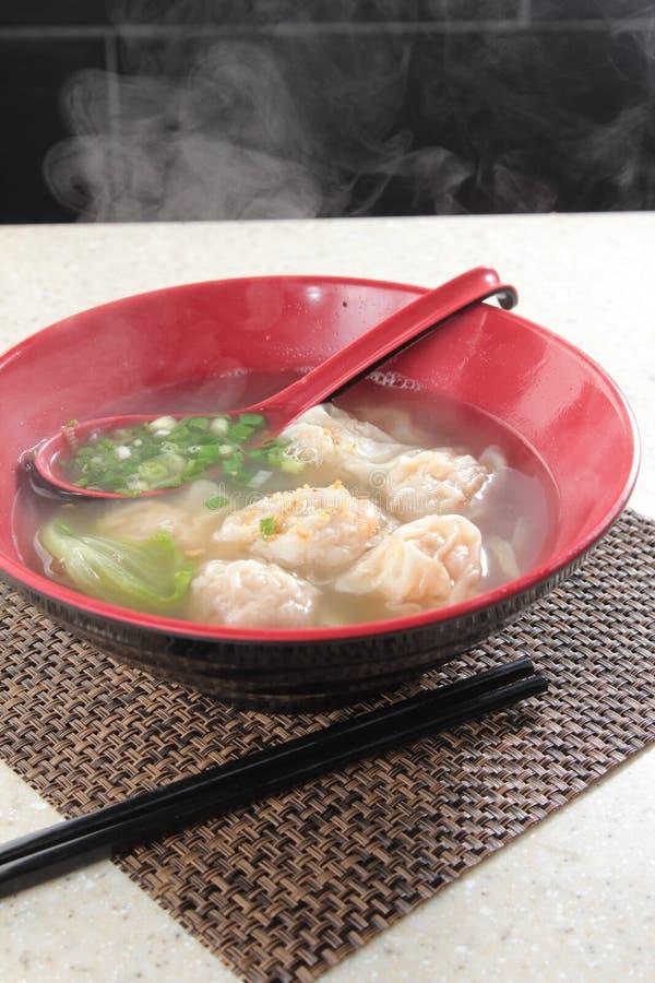 饺子一张鲜美烹调照片  免版税库存图片