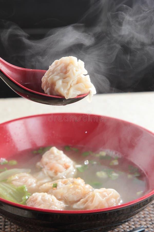 饺子一张鲜美烹调照片  免版税库存照片
