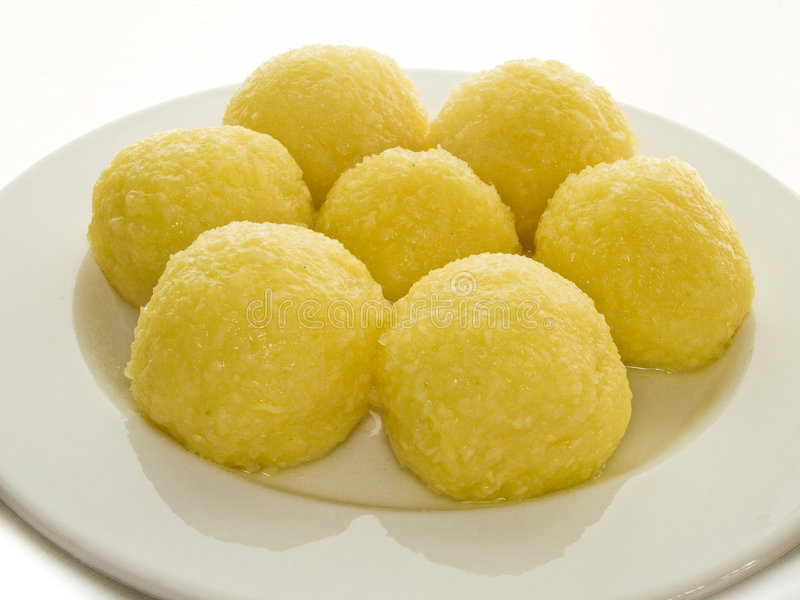 饺子土豆 库存图片