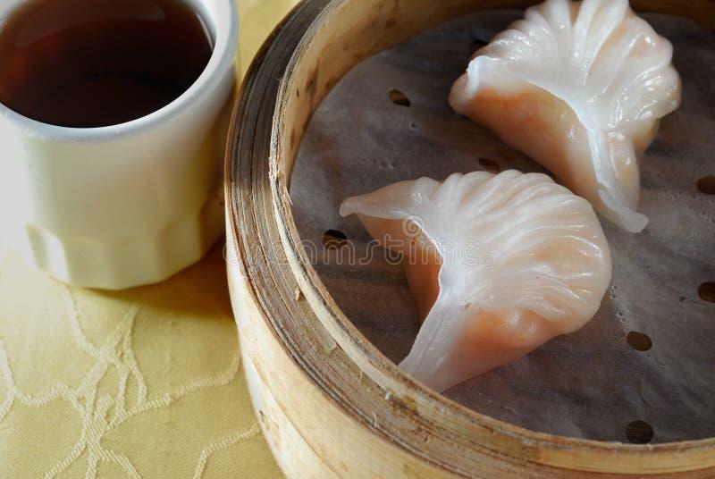 饺子虾 库存照片
