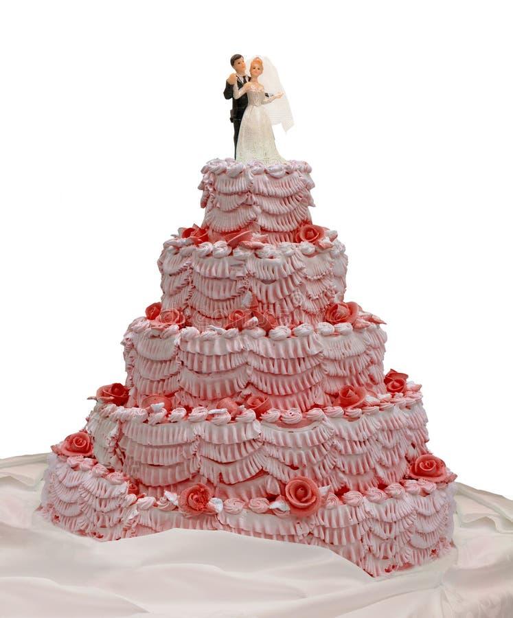饼婚礼 库存图片