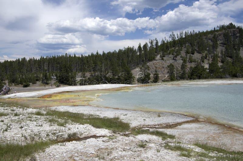 饼干水池黄石国家公园 库存图片
