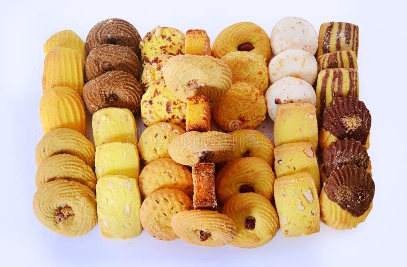 饼干特写镜头 免版税库存图片