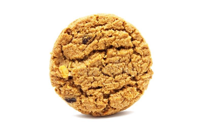 饼干用巧克力片黄油 图库摄影