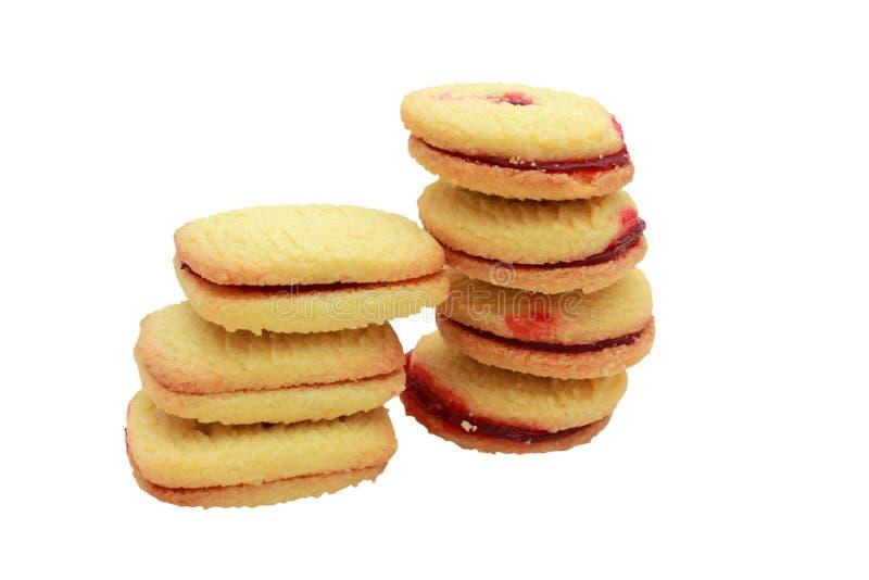 饼干莓脆饼 库存照片