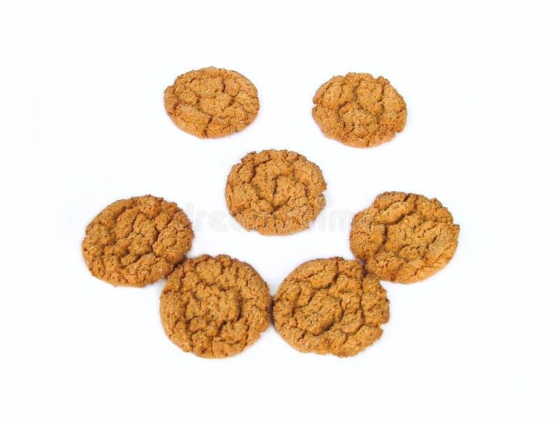 饼干表面 免版税图库摄影