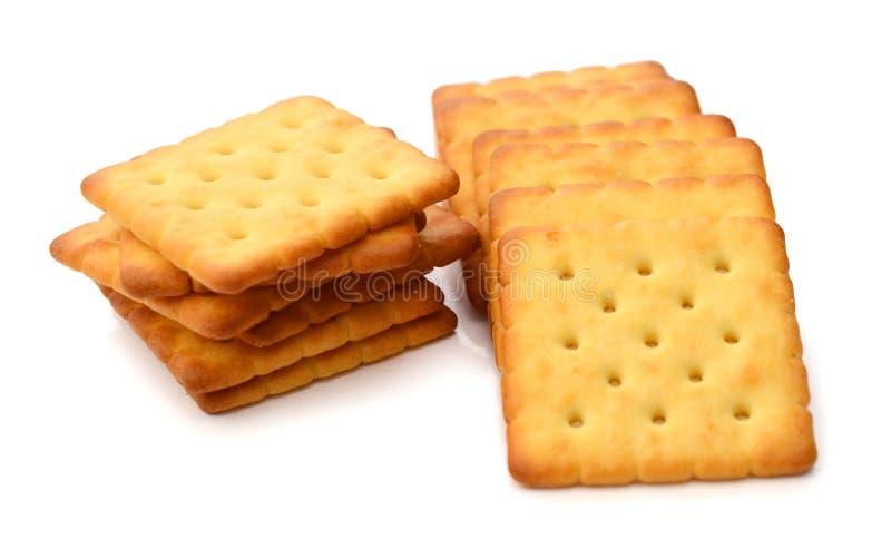 饼干足迹 免版税库存照片