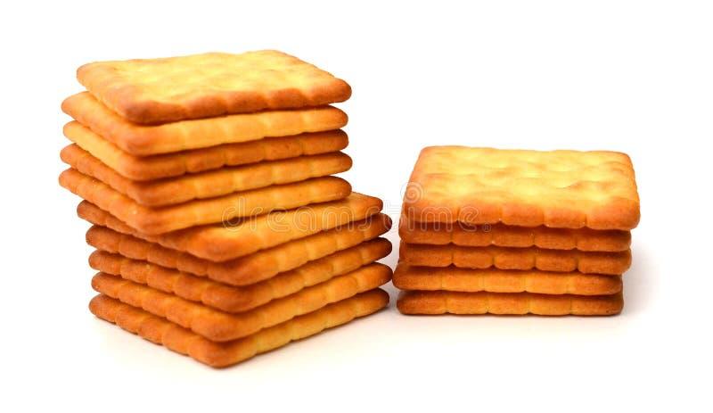 饼干足迹 库存图片