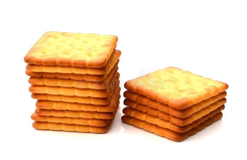 饼干足迹 免版税库存图片