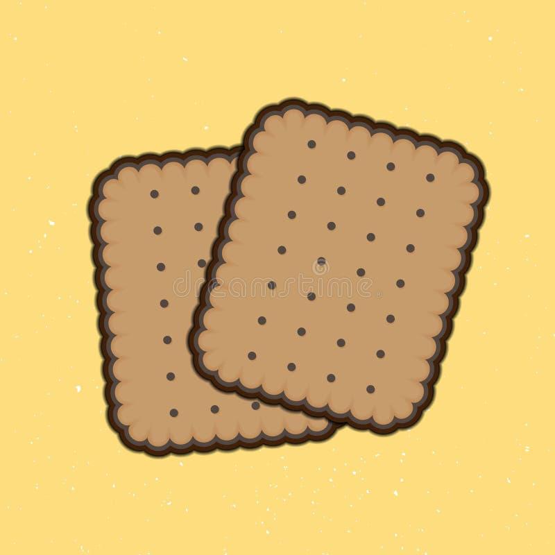 饼干 皇族释放例证