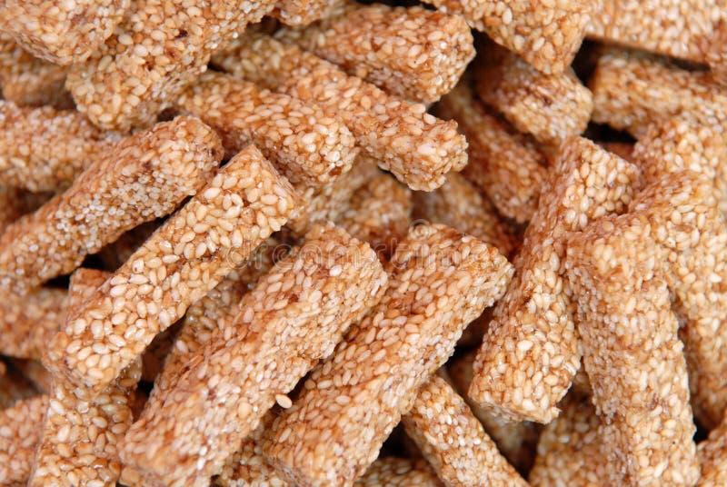 饼干sesami 免版税库存照片