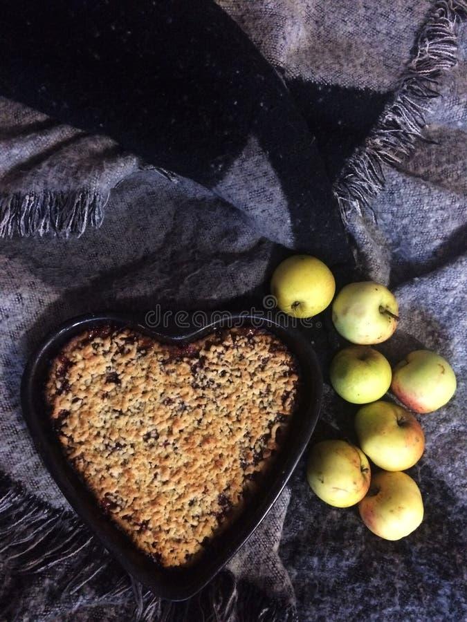 饼witn莓果 免版税库存图片
