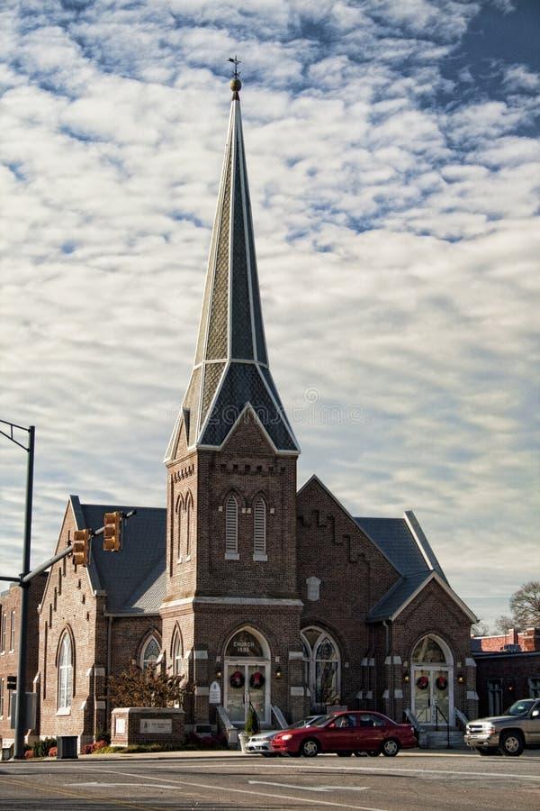 首先阿拉巴马雅典教会长老教会员 免版税库存图片