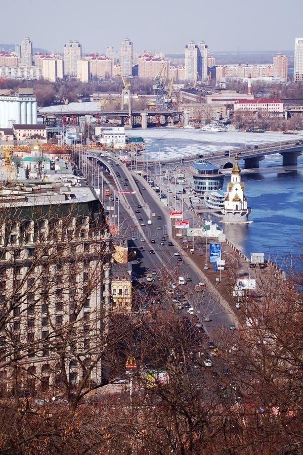 首都基辅乌克兰 免版税库存照片