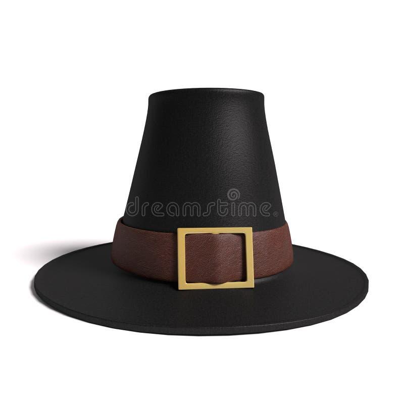 香客帽子 库存例证