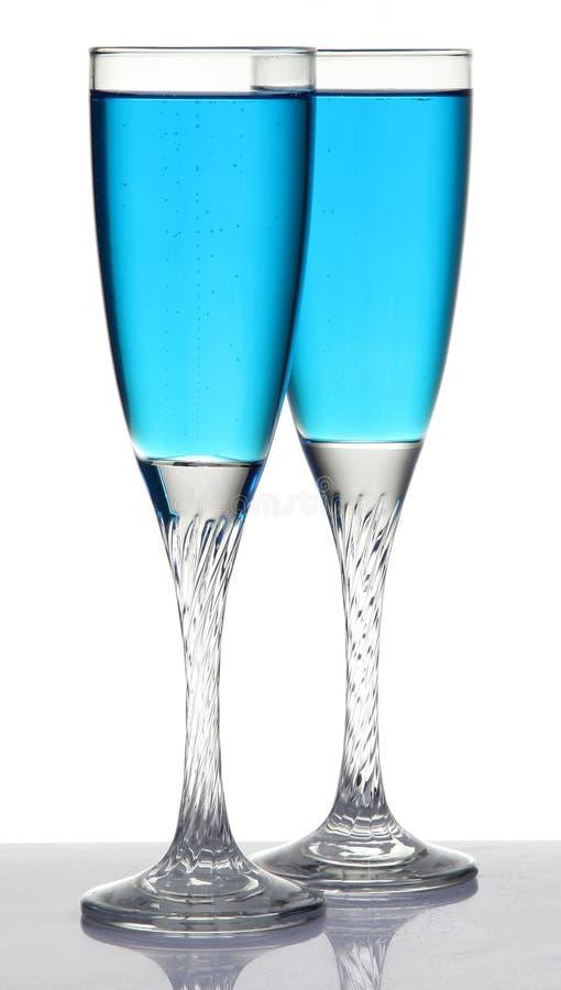 香宾玻璃 免版税库存照片