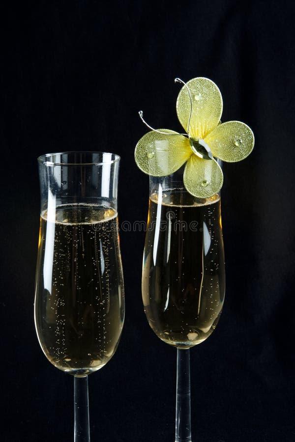 香槟槽 图库摄影