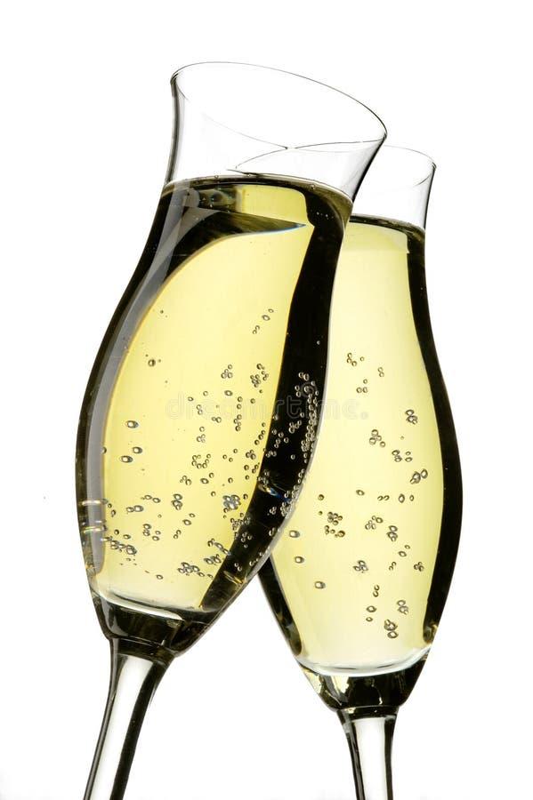 香槟欢呼 库存图片