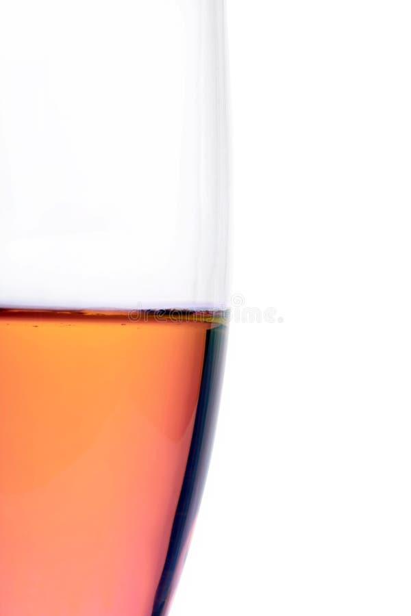 香槟特写镜头长笛部分 库存照片