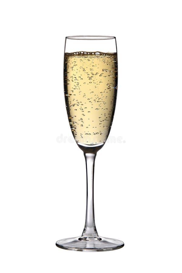香槟玻璃 免版税图库摄影