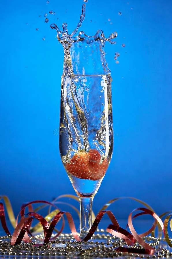 Download 香槟玻璃 库存图片. 图片 包括有 庆祝, 香槟, 叶子, 圣诞节, 溢出的, 嘶嘶响, 玻璃, 霍莉, 潮湿 - 3662667