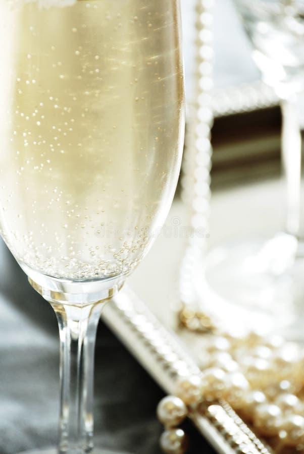 香槟珍珠 图库摄影