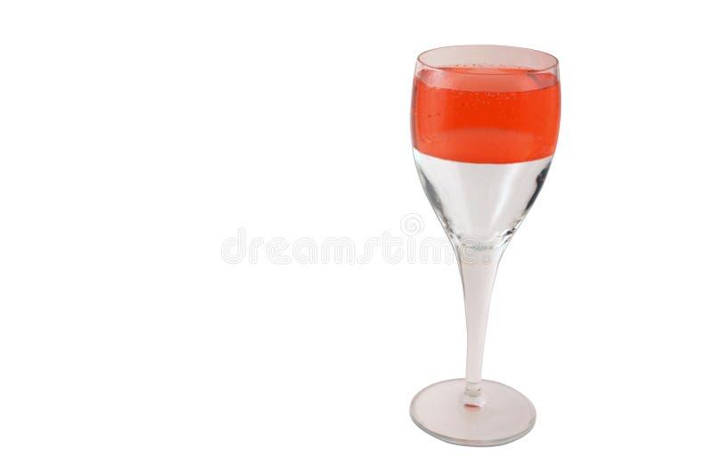 香槟ii乐观 库存照片