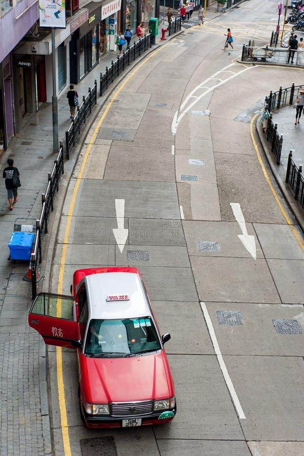 香港中央中级自动扶梯 图库摄影