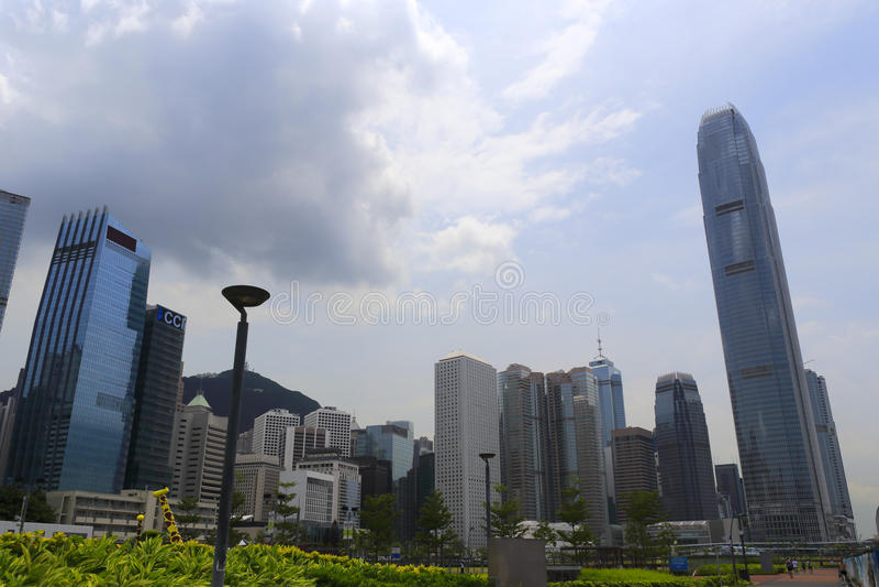 香港中央 免版税库存照片