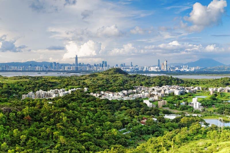 香港乡下 免版税库存照片