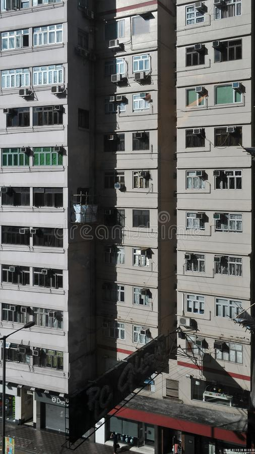 香港住房公寓 图库摄影