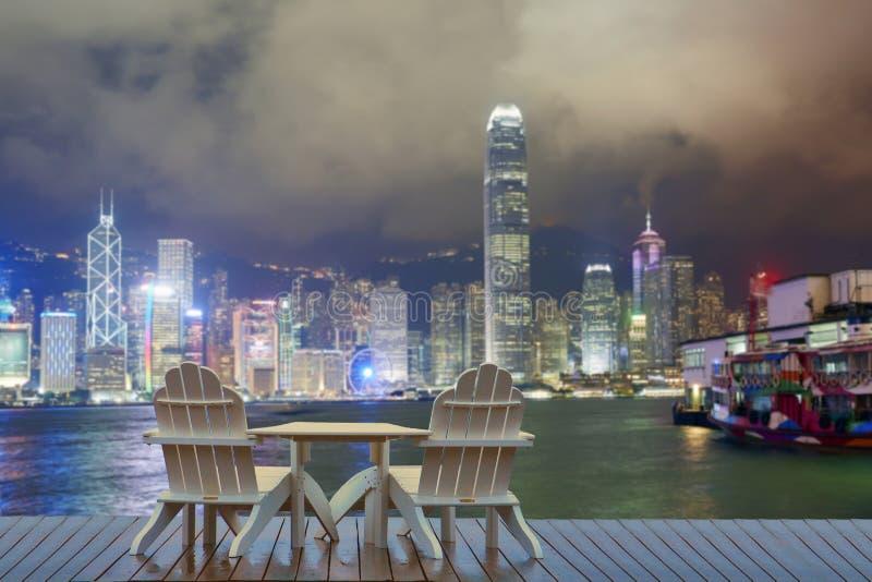 香港假期,放松在香港 图库摄影