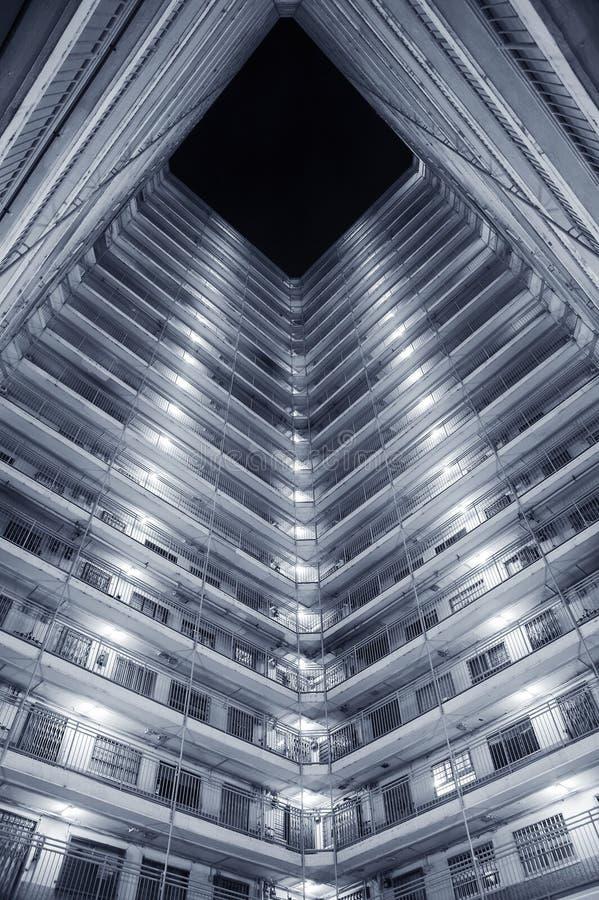 香港公共庄园 免版税库存图片