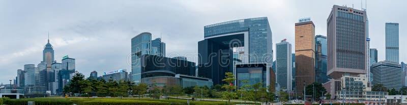 香港公司大厦 库存图片