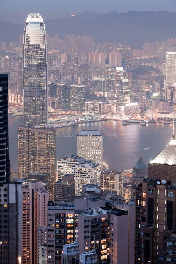 Download 香港夜视图 库存照片. 图片 包括有 天空, 晚上, 海运, 拱道, 都市风景, 现代, 城市, 大都会 - 30326214