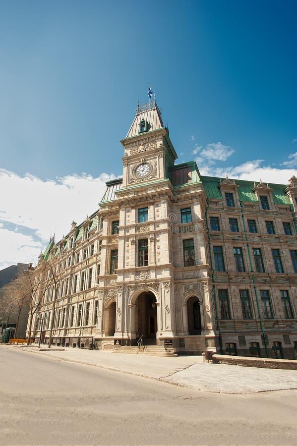 香港大会堂,魁北克市 免版税库存图片
