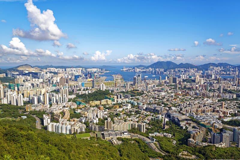 香港天 免版税库存照片