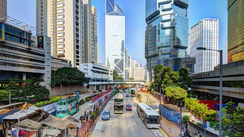 香港市场面 库存照片