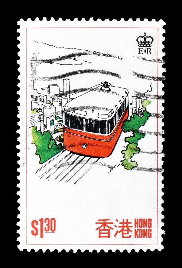 香港打印的邮票 免版税库存照片